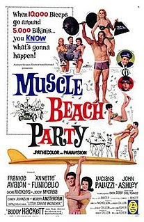 <i>Muscle Beach Party</i> 1964 film by William Asher
