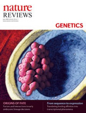 Nature Reviews Genetics - Image: Nature Reviews Genetics