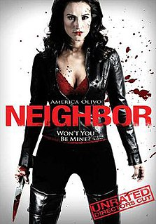 <i>Neighbor</i> (2009 film) 2009 American horror film directed by Robert A. Masciantonio