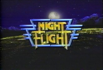 Night Flight (TV series) - Night Flight title screen from 1988