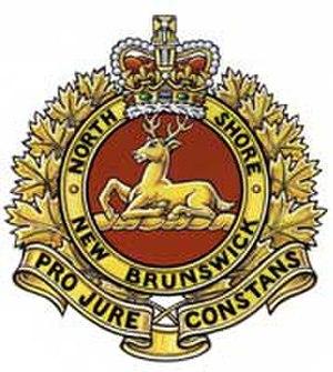The North Shore (New Brunswick) Regiment - Image: North shore nb regt