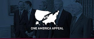 One America Appeal - Image: One America Appeal logo