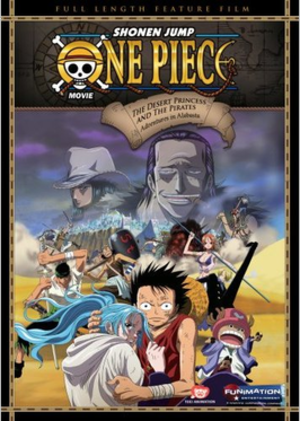 One Piece Movie: The Desert Princess and the Pirates: Adventures in Alabasta - Cover art of the English DVD release