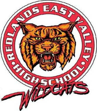 Redlands East Valley High School - Image: Original REVH Slogo