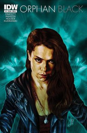 Orphan Black (comic book) - Image: Orphan Black Issue 1 Variant Cover A