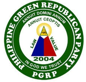 Philippine Green Republican Party - Image: PGRP logo