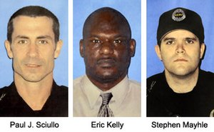 2009 shooting of Pittsburgh police officers - Image: Paul J. Sciullo, Eric Kelly, and Stephen Mayhle