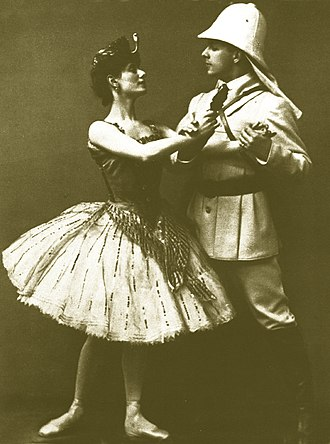 The Pharaoh's Daughter - Image: Pharoahs Daughter Anna Pavlova as Aspicia & Mikhail Mordkin as Taor circa 1905
