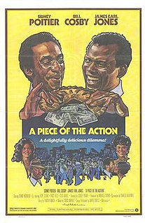 <i>A Piece of the Action</i> (film) 1977 film by Sidney Poitier