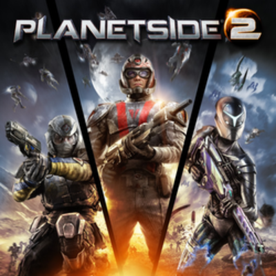 Picture of a game: Planetside 2