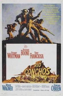 Afiŝo de Rio Conchos (1964 filmo).jpg