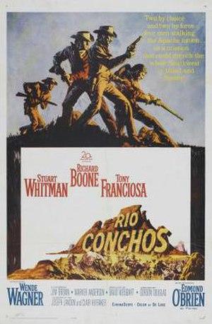 Rio Conchos (film) - Theatrical release poster
