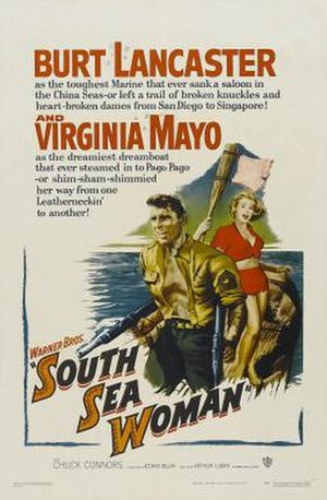 South Sea Woman - Original film poster