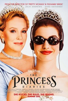 <i>The Princess Diaries</i> (film) 2001 film produced by Walt Disney Pictures