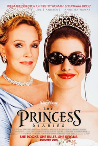 The Princess Diaries (film) - Theatrical release poster