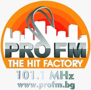 BTV Radio - Image: Pro fm bulgaria logo