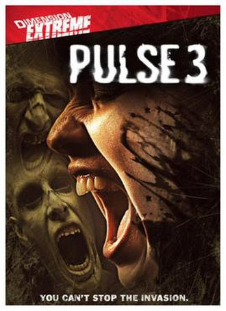 Pulse 3: Invasion - DVD cover