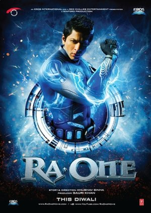 Ra.One - Theatrical release poster