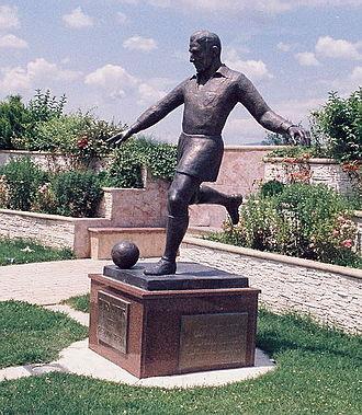 Rajko Mitić - Rajko Mitić Monument, Bela Palanka, Serbia.