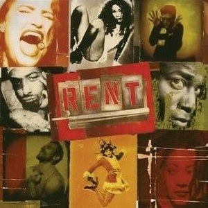 Rent (albums) - Image: Rent 1996cover