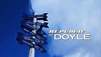 Republic of Doyle - Image: Republic of Doyle title card