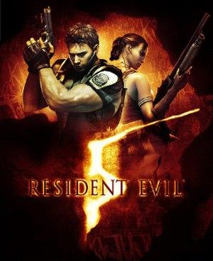 Resident Evil 5 - Image: Resident Evil 5 Box Artwork