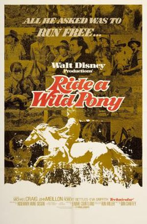 Ride a Wild Pony - Theatrical release poster