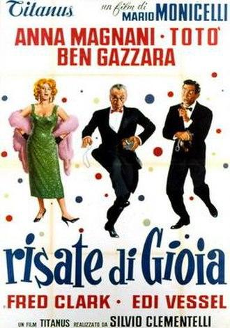 The Passionate Thief (film) - Film poster