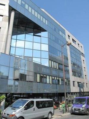 Dargaud - Dargaud head office, 15-27 rue Moussorgski, Paris 18th arr.