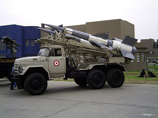 S-125 Neva/Pechora Type of short-range SAM system