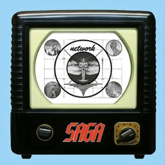 Network (album) - Image: Saga Network (2004) Front Cover