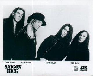 Saigon Kick American glam metal band formed in 1988