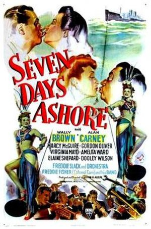 Seven Days Ashore - Theatrical release poster