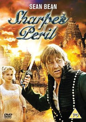 Sharpe (novel series) - Sean Bean as Richard Sharpe for the DVD cover of Sharpe's Peril
