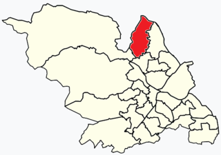 West Ecclesfield Electoral ward in the City of Sheffield, South Yorkshire, England