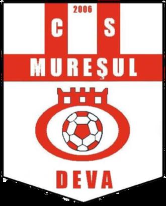 CS Mureșul Deva - Image: Sigla CS Muresul Deva