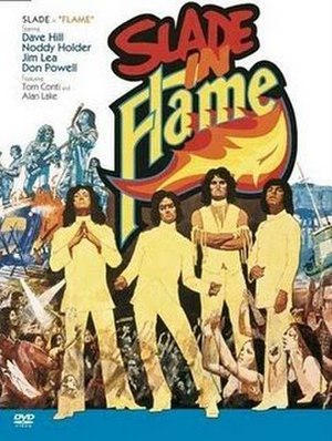 Slade in Flame - Film poster by Arnaldo Putzu