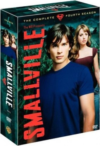 Smallville (season 4) - DVD and Blu-ray cover