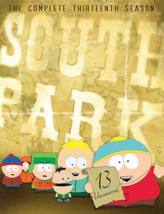 South Park (season 13) - DVD cover