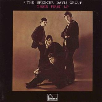 The Spencer Davis Group - Their First LP - (1965) Album cover
