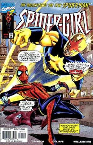 Nova (Richard Rider) - Image: Spidergirl 7