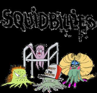 Squidbillies - Image: Squidbillies title card