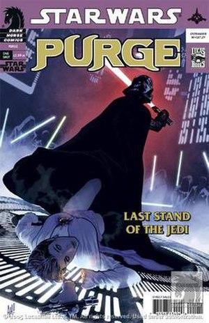 Purge (comic book) - Image: Starwars purge