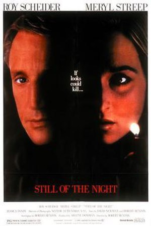 Still of the Night (film) - Theatrical release poster