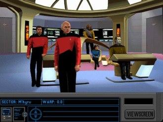 Star Trek: The Next Generation – A Final Unity - Main Bridge