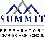 The logo of Summit Preparatory Charter High School