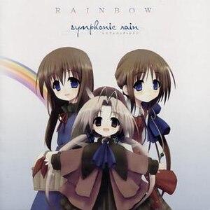 Symphonic Rain - The cover of the album Rainbow.