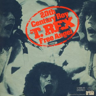 20th Century Boy - Image: T Rex 20th Century Boy Ariola Cover