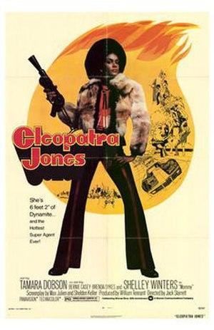 Cleopatra Jones - Original film poster.