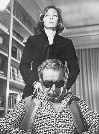 Fernando Rey - Fernando Rey with Gloria Grahame in Tarot (The Magician, 1973).